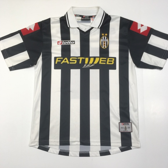 huge discount f16d4 e99d0 JUVENTUS 01-02 Lotto Customized SPRINGER Jersey